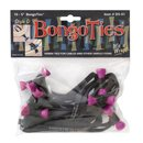 Bongo Ties im 10er Pack Style D Pink Flamingo - limited...