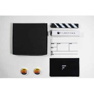 Filmsticks Clapperboards - Premium Quality Clapperboard Kits MEDIUM - 28cm