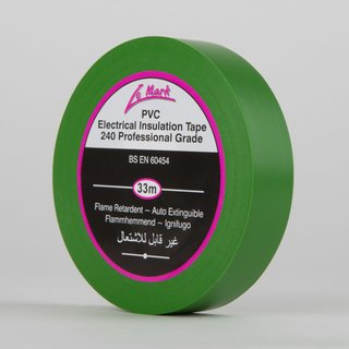 Le Mark PVC Tape 19mm x 33m green