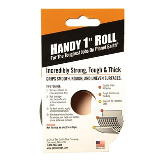 Gorilla Tape Klebeband Handy Roll 25mm x 9m