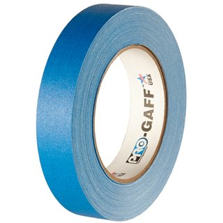 ProGaff Tape - Gewebeklebeband Electric Blue 24mm x 22,86m