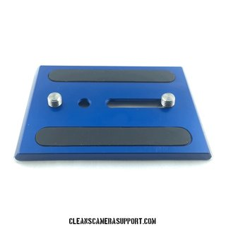 Cleans Camera Support Touch & Go Plate-Blue