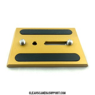 Cleans Camera Support Touch & Go Plate-Gold