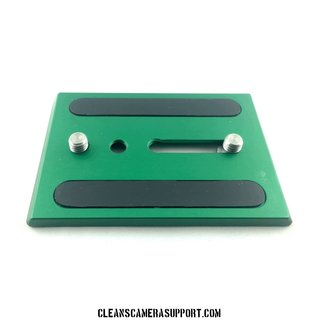 Cleans Camera Support Touch & Go Plate-Green