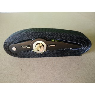 Ratchet Strap 25mm x 5m Black