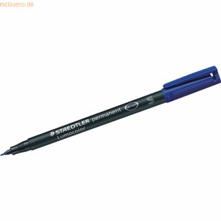 Staedtler Lumocolor Superfein (S) permanent blau