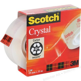 Scotch Crystal Clear Tape 600