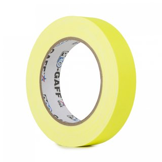 Pro Console Paper Tape Neon Gelb 24mm x 22,86m
