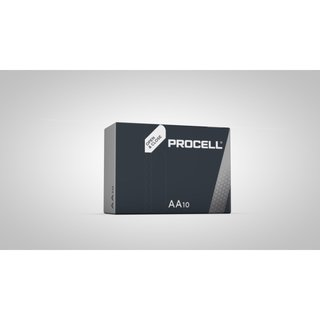 Duracell Procell AA Batterie PC1500 im 10er Pack