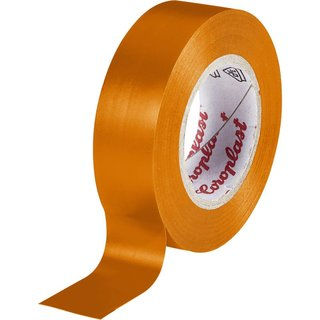 Coroplast 302 Isolierband Orange 10 m x 15 mm
